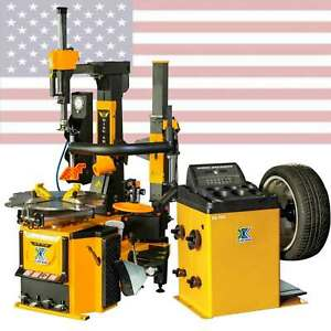 New 1 5hp 806b350g 70d Tire Changer Machine Combo Wheel Balancer Rim Clamp