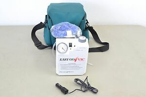 Precision Medical Easy Go Vac Pm65 Portable Vacuum Suction Pump System a33