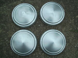 Set 9 Mopar Dodge Plymouth Poverty Dog Dish Hub Caps Hubcaps Car Truck Rat Rod