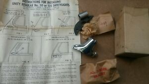 Nos 1953 Chrysler Desoto S16 S17 S18 C56 C57 C58 Spot Light Bracket Unity 54