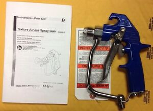 Graco 241705 Texture Airless Heavy Duty Spray Gun 4000 Psi