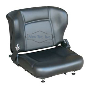 New Forklift Vinyl Seat With Adjuster Tcm Nissan Hyster Toyota Yale Cat 1698