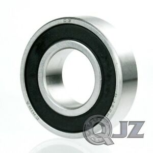 2x 63006 2rs Radial Ball Bearing Double Sealed 32mm X 72mm X 27mm Rubber Shield