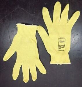 Dupont Kut gard Seamless Gloves Made With Kevlar Qty 14 Med Yellow 07 k300 m