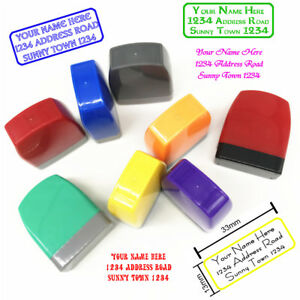 Personalized Cheapest Self inking Script Font Address Stamps Custom Return Stamp