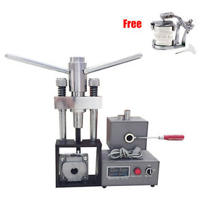 400w Dental Flexible Denture Injection Machine Heater Press Partial articulator