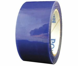 Polyken Paper Splicing Tape Blue Polyester 2 X 216 Silicone 718 Blue