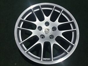 1 Genuine Porsche Rs Spyder 20 Inch Rear Wheel Oem Factory Rare