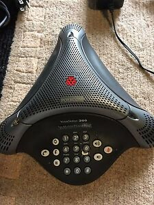 Polycom Voicestation 300 Conference Phone 2201 17910 001 Including Power Supply