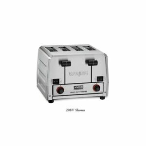 Waring Commercial Wct850rc Heavy Duty Bread And Bagel Toaster Silver