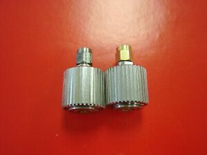 Apc 7 To Sma Male Rf Coaxial Connector Adapter Qty 2