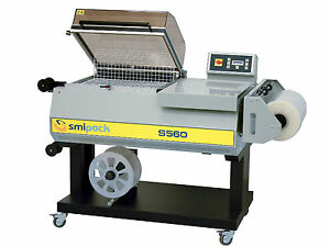 All in one L sealer And Shrink Wrapper Machine 22 X 16 Seal Area