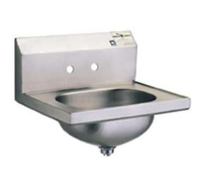 Eagle Group Hsa 10 1x Stainless Steel Wall Mount Hand Sink