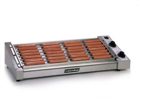 A j Antunes Roundup Hot Dog Roller Grill Machine Holds 50 Hot Dogs 120v
