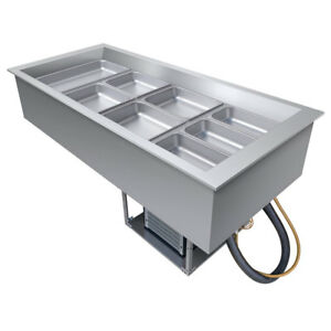 Hatco Cwb 5 Drop in Refrigerated Well W 5 Pan Size Top Mount
