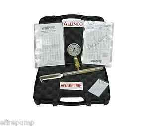 Allenco Fire Pump Pitot Tube Kit For Flow Test Hose Monsters W Calibrated Gauge