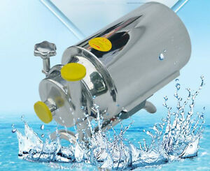 Ce Stainless Steel Sanitary Pump Sanitary Beverage Milk Delivery Pump