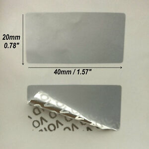 100pcs Packaging Label Empty Warranty Void Security Seal Tag Stickers 2 Size
