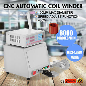400w New Cnc Automatic Coil Winding Machine Micro computer Controlled Winder