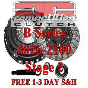 Competition Stage 2 Clutch Acura Integra Del Sol Civic Si B18c B18 B16 8026 2100