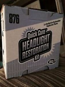 Bg 876 Headlight Restoration Kit
