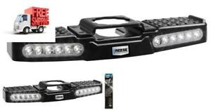 Trailer Hitch Step Led Lighted Towing Truck Step For 2 Receiver Reese Tow Power