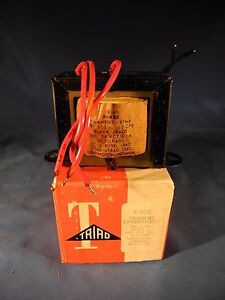 Triad F 45x Filament Transformer 115v 60cps Sec 24v Ct nib