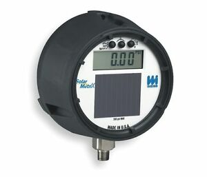 Weiss Digital Gauge 30 Hg Vac To 60 Psi 4 1 2 Dial Dugy2 060 4l