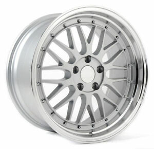 Hd Wheels 19x9 5 Bbs Lm Style Replica Wheels Rims Euro 5x112 Silver
