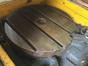 Indexing Table 24 Diameter Rotary Positioner Machining Milling id 221