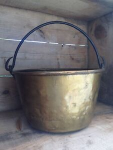 Small Antique Apple Butter Kettle 19th Century Vermont