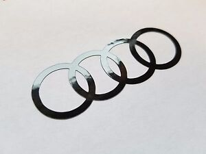Decal Sticker For Audi Tt S4 S6 Rs4 R8 Red Or Black Or Many Other Colors