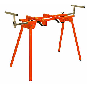 Folding Miter Saw Stand 500lb Capacity 36in Height Portable Work Bench Station
