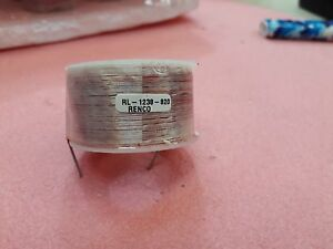 Lot X 10 Rl 1238 820 Renco Air Core Inductors h 820 0 Ohms 0 6420