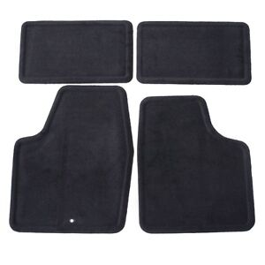 2006 2016 Chevy Impala Front Rear Replacement Floor Mats Black By Gm 25795457