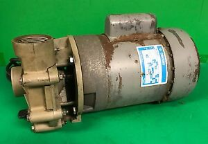 Century Ac Pump Motor Cat No B615 3 4 Hp 230 115v Single Phase 3450 Rpm