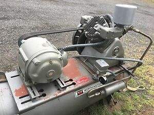Worthington 10 Hp Air Compressor 230 460 3ph Good Condition