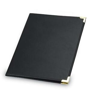Samsill Classic Collection Business Portfolio Resume With Brass Corners