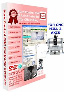 Arduino Uno Nano Cnc 3 Axis Mill Pure Control Easy To Use And Friendly Software