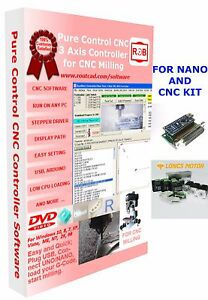 Arduino Nano Longs Motor Cnc Pure Control Easy To Use And Friendly Software