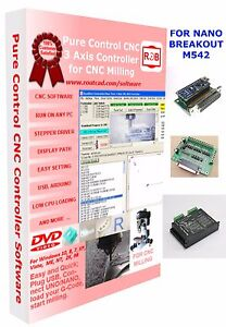 Arduino Nano M542 Breakout Cnc Pure Control Easy To Use And Friendly Software