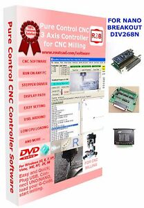 Arduino Nano Div268 Breakout Cnc Pure Control Easy To Use And Friendly Software