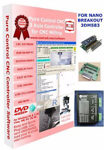Arduino Nano 3dm583 Breakout Cnc Pure Control Easy To Use And Friendly Software