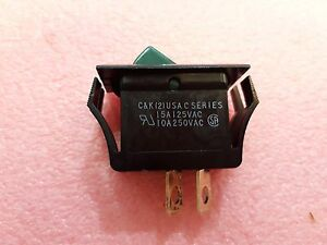 Lot X 20 C122 j1 6 s2 07 C k 2 Switch Rocker Dpdt On off 15a125vac
