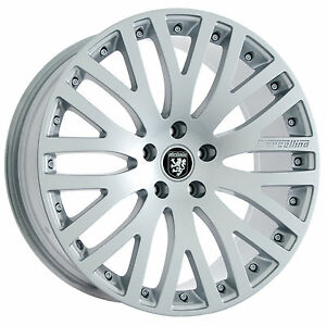 Set Of 20 Staggered Bmw Hyper Silver Wheels Rims For 7 6 5 Series 20x8 5 20x9 5