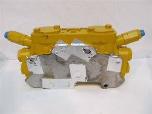 Cat caterpillar 254 8095 Hydraulic Control Valve