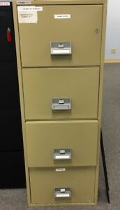 Schwab 1000 4cfc 1 4 Drawer Fire Impact Resistant Filing Cabinet Water File
