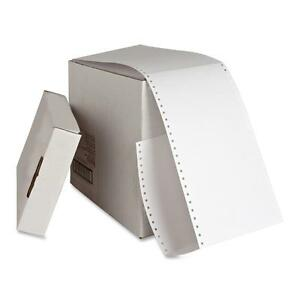Sparco Index Cards Continuous feed Punched 4 x6 4000 ct We 01098