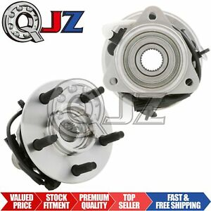 2x 2001 2005 Ford Explorer Sport Trac Front Wheel Hub Bearing Assembly Stud Abs