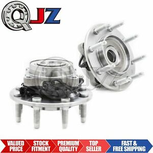 For 2001 2004 Chevrolet Silverado 2500 2wd Front Pair 2 Wheel Hub Replacement